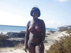luxurious youthful black femmes and matures