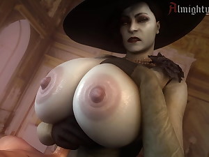 Alcina Dimitrescu Massive Boobjob
